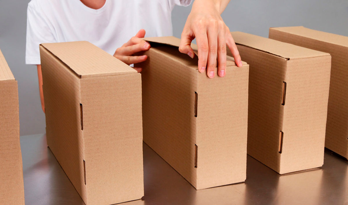 Основные виды упаковки